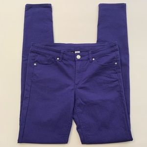 Divided H&M | Purple Skinny Jeans
